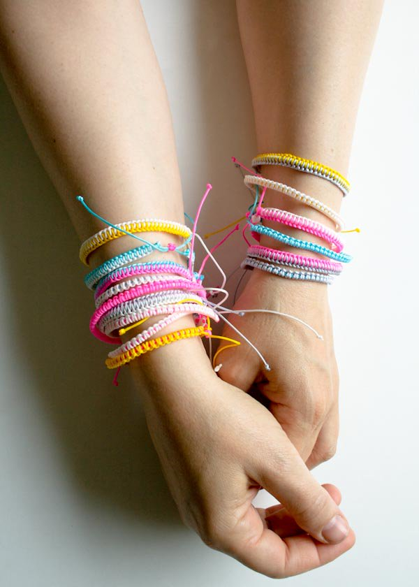 1 Breezy Friendship Bracelets