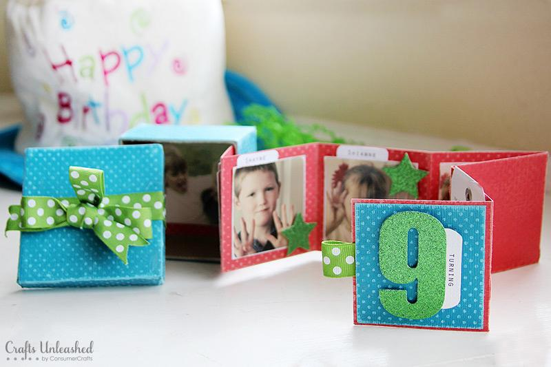 1 Mini Birthday Album in a Box