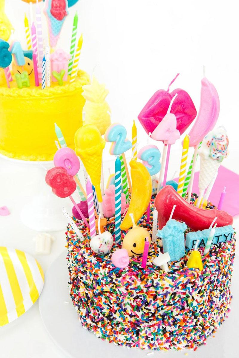 1 Shaped DIY Birthday Candles