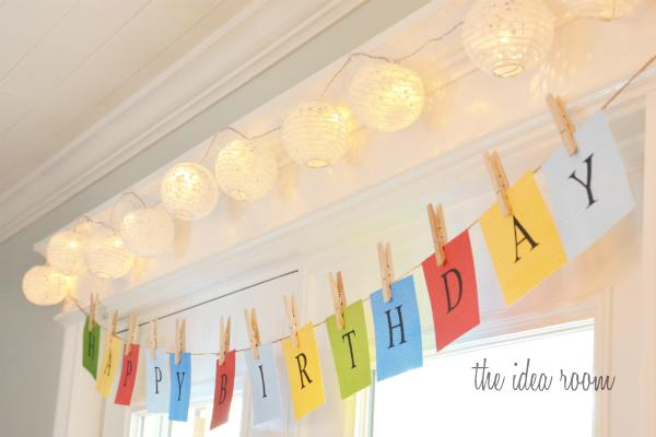 10 DIY Happy Birthday Banner