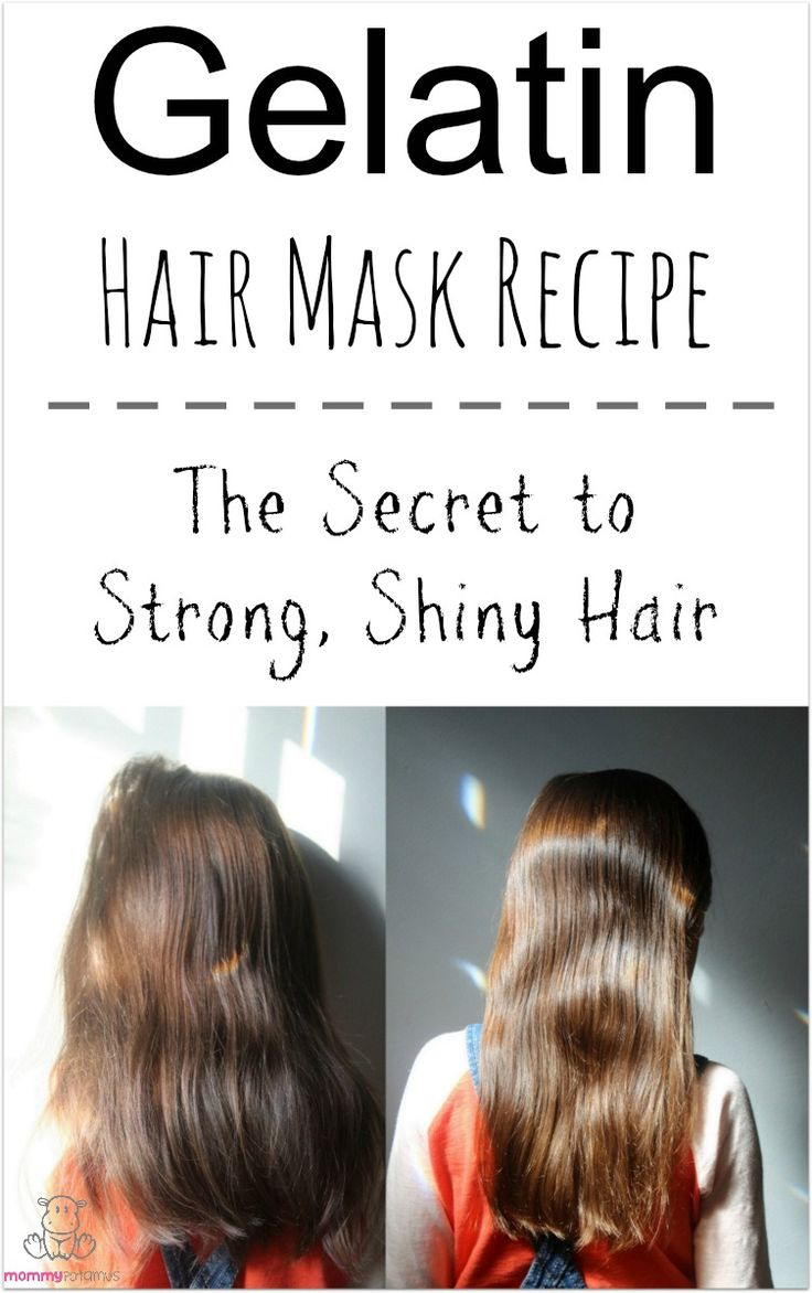 10 Gelatin Hair Mask Recipe