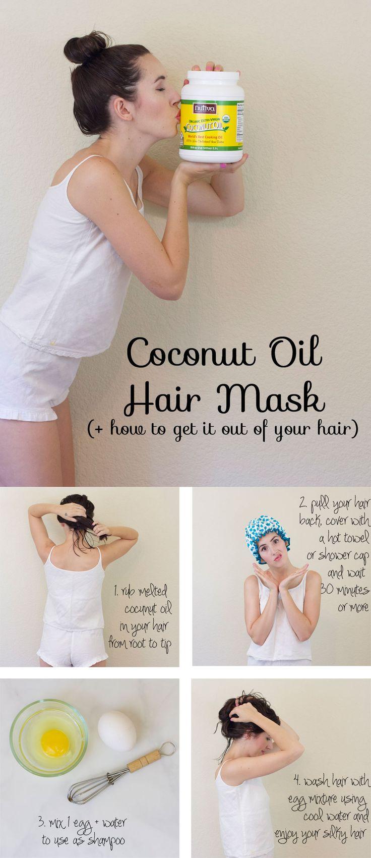 11 Coconut Oil Hair Mask