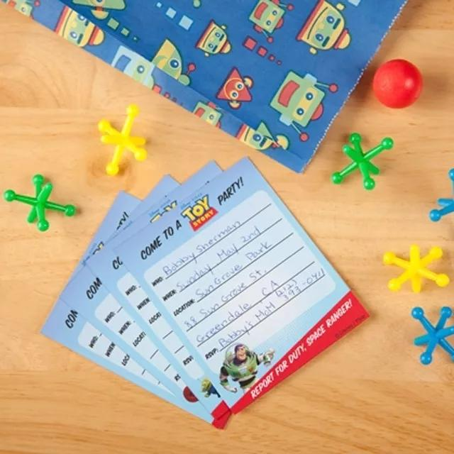 12 Toy Story Birthday Party Invitation