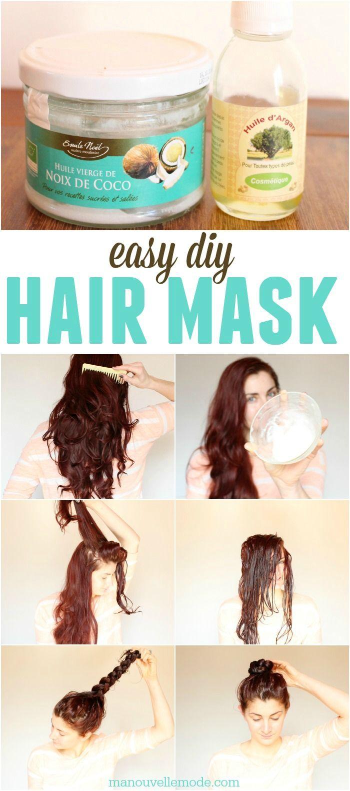 13 Argan Coconut Oil Hair Mask