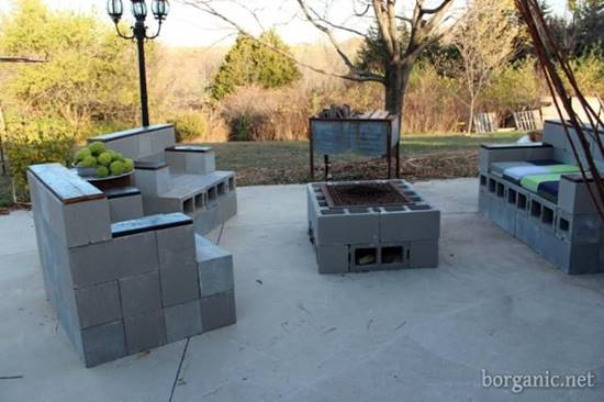 13 Cinder Block Patio Furniture