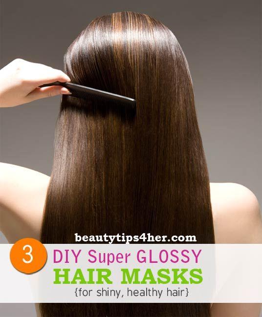 15 3 DIY Super Glossy Hair Masks