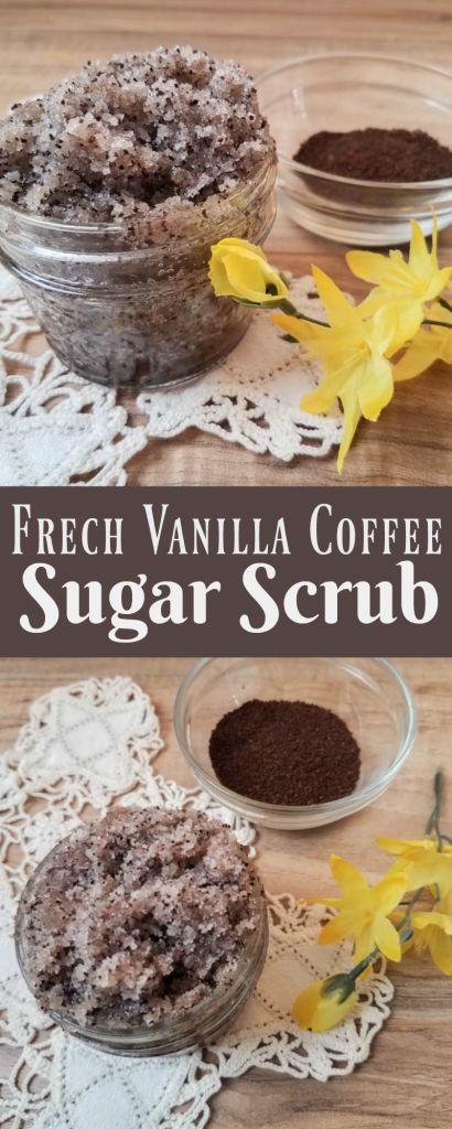 15 DIY French Vanilla Coffee Sugar Scrub