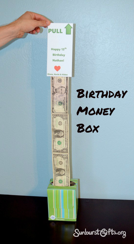 15 Easy Peasy Birthday Money Box