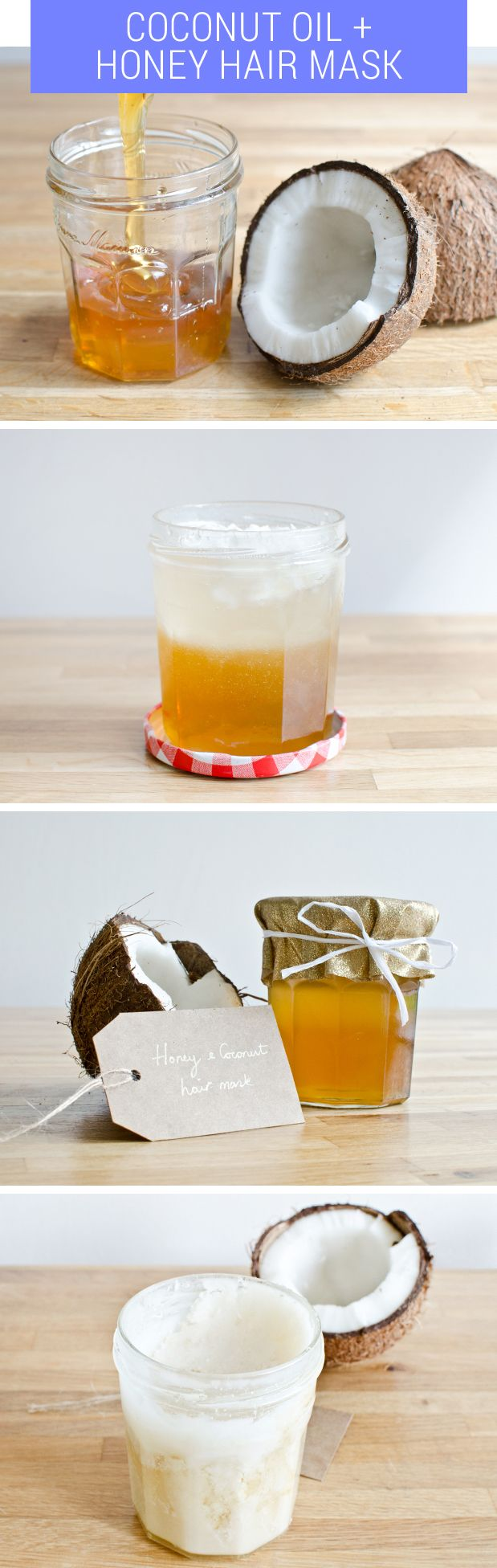 16 DIY Coconut and Honey Hair Mask