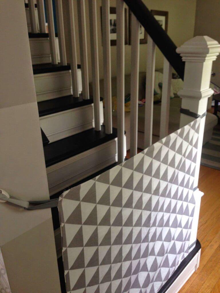 17 DIY Fabric Baby Gate