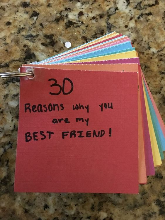 18 DIY Birthday Gift For Best Friend