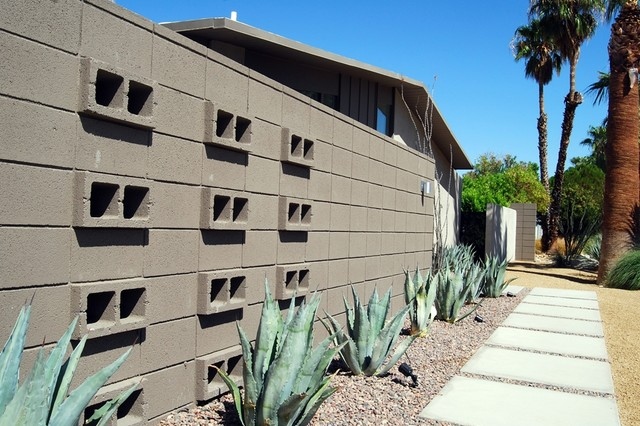 20 Cinder Block Privacy Wall