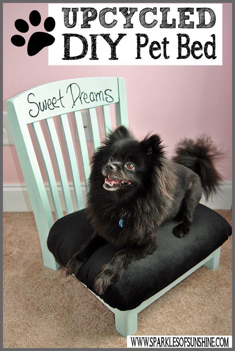 21 Upcycled Chair Dog Bed