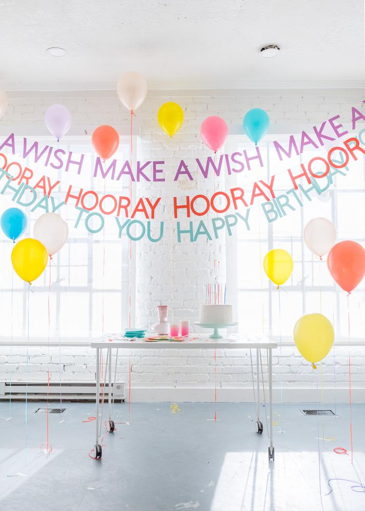 23 DIY HAPPY BIRTHDAY BANNERS