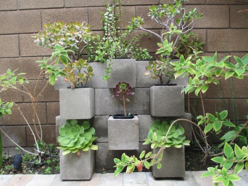 24 Cinder Block Garden