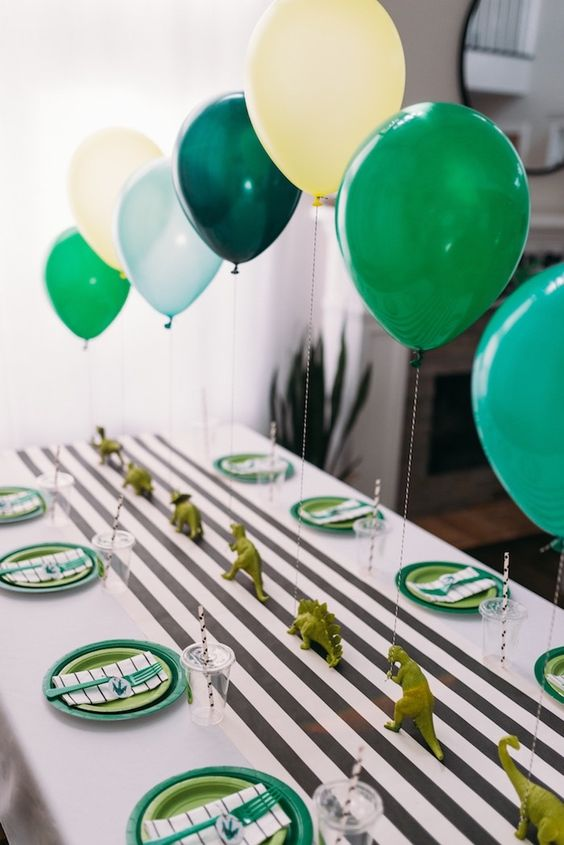 24 Modern Dinosaur Birthday Party Ideas