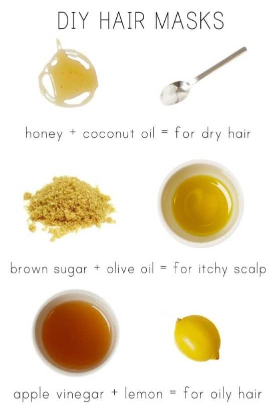 24 Oily Hair Mask