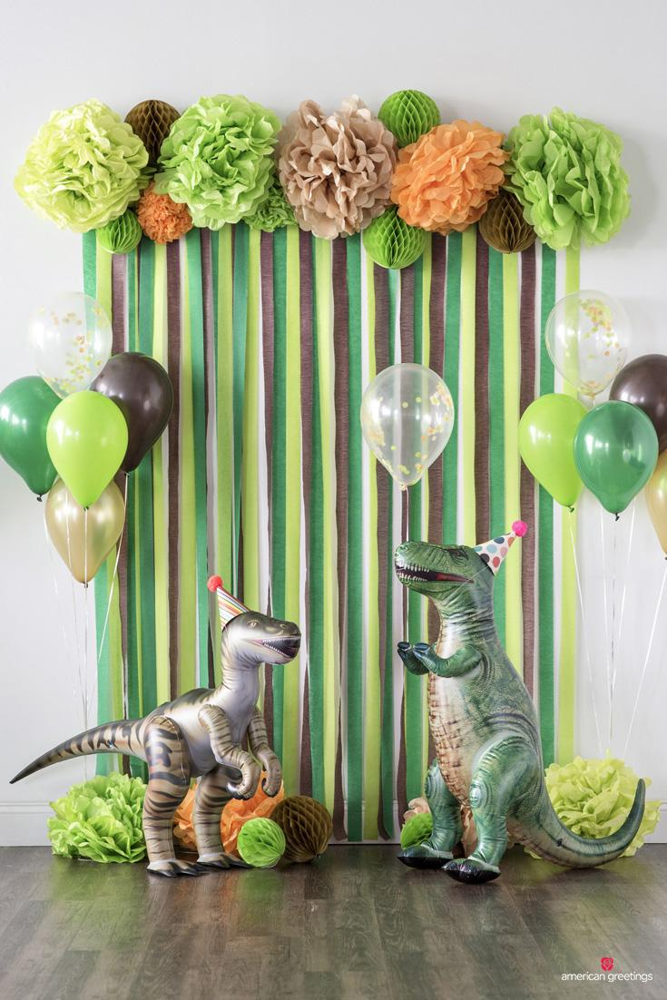 25 Dinosaur Birthday Party Decorations