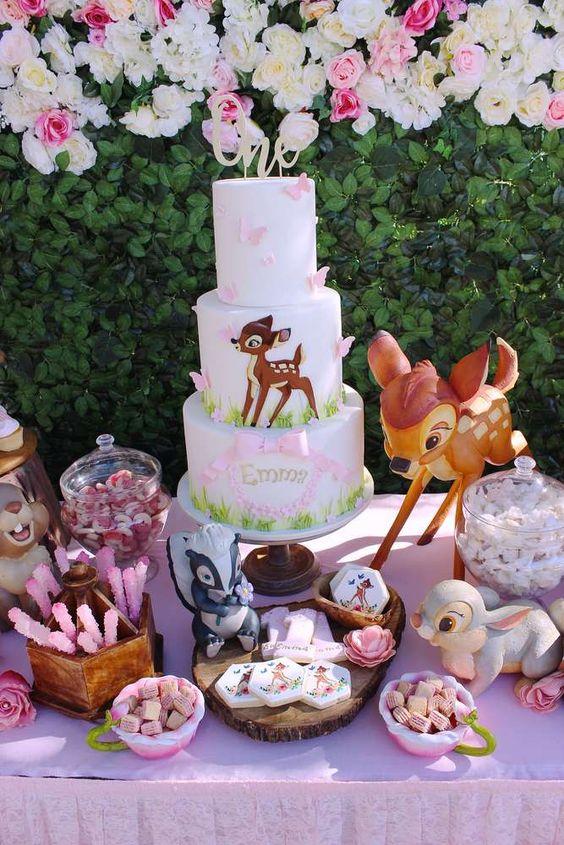 26 Bambi 1st Birthday Party