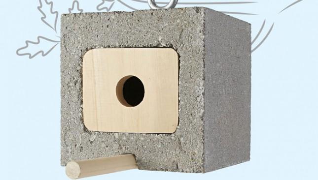 26 Cinder Block Birdhouse