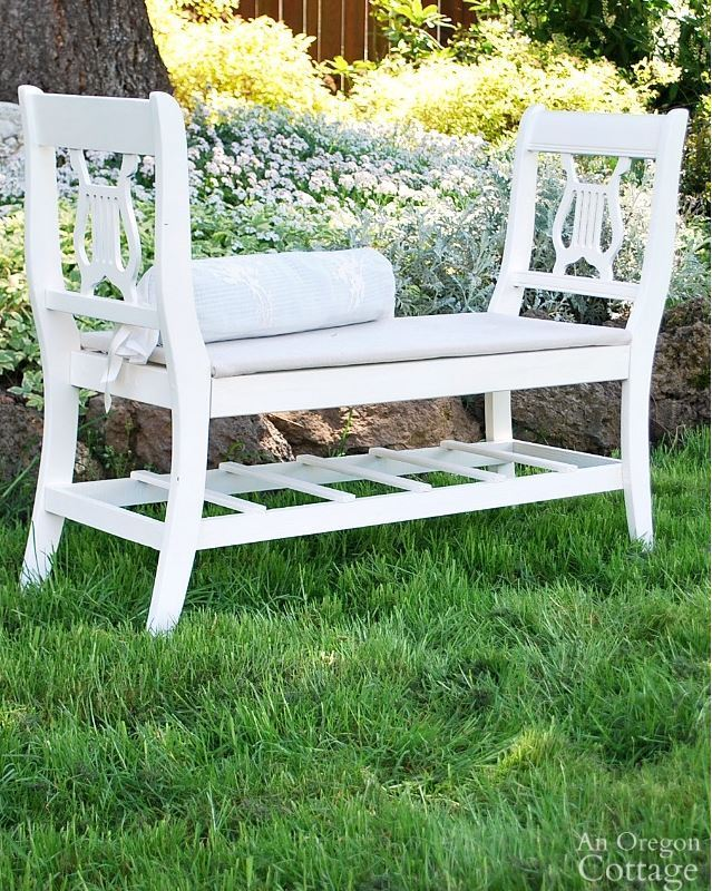 27 French-style Bench