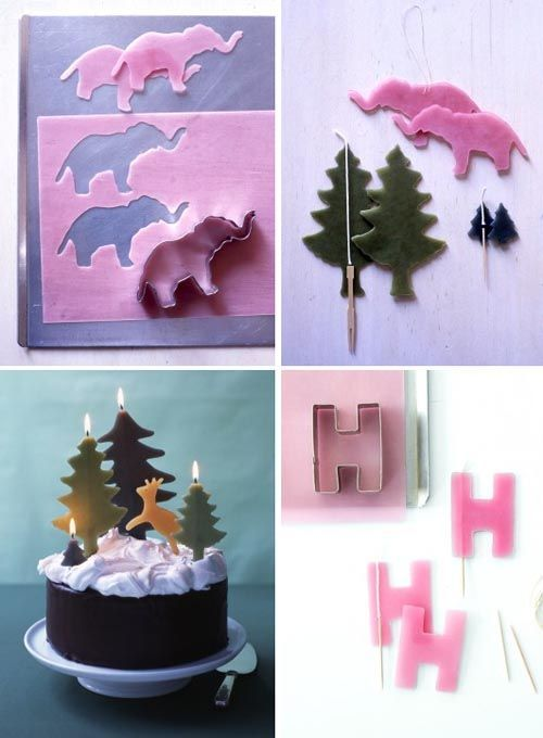 27 Make Your Own Birthday Candles