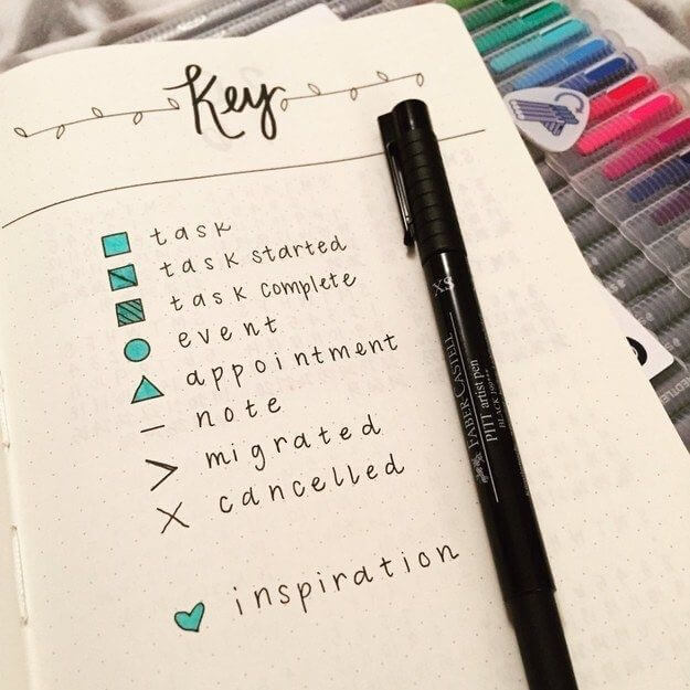 27 The Key of Your Bullet Journal