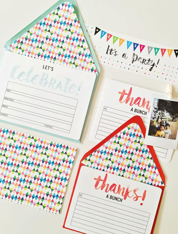 28 FESTIVE FREE PRINTABLE PARTY INVITATION SET FOR ANY OCCASION