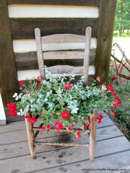 29 Chair Planter