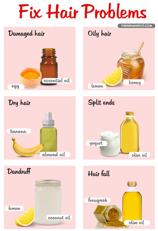 3 6  DIY HAIR MASKS TO SOLVE YOUR HAIR PROBLEMS