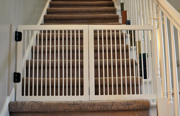 31 DIY Baby Gate for Stairs