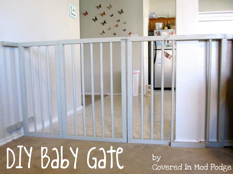34 DIY Baby Gate