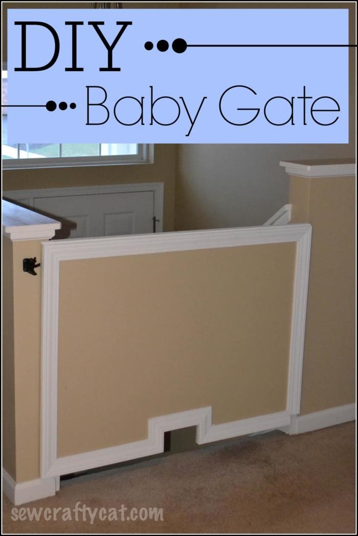 35 DIY Baby Gate