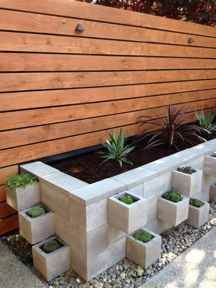 36 Peaceful and Pristine Cinder Block Garden Bed
