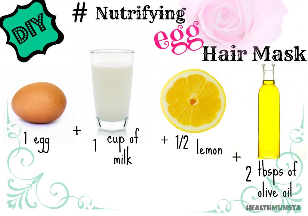 4 The Nutrifying Egg Hair Mask