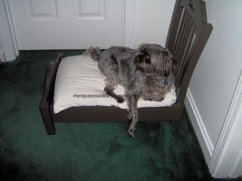 5 Dog Bed Made From an Old Chair