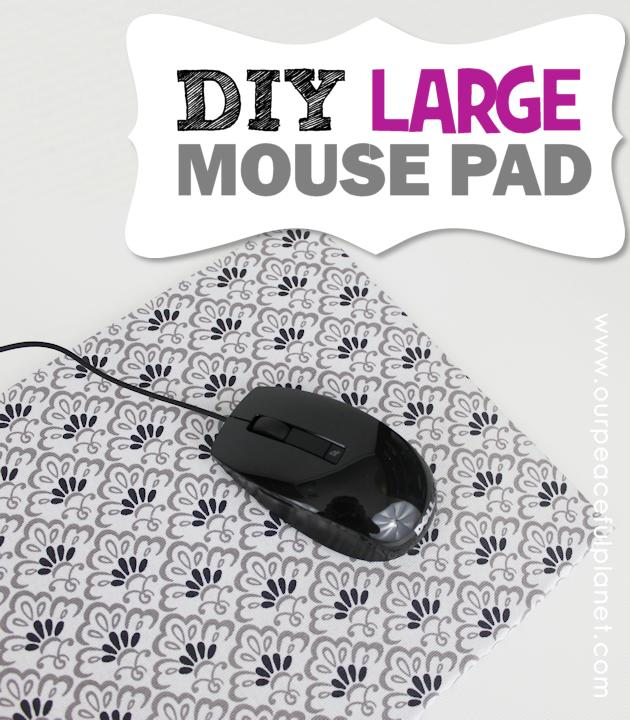 5 Make Your Own Large DIY Mouse Pad