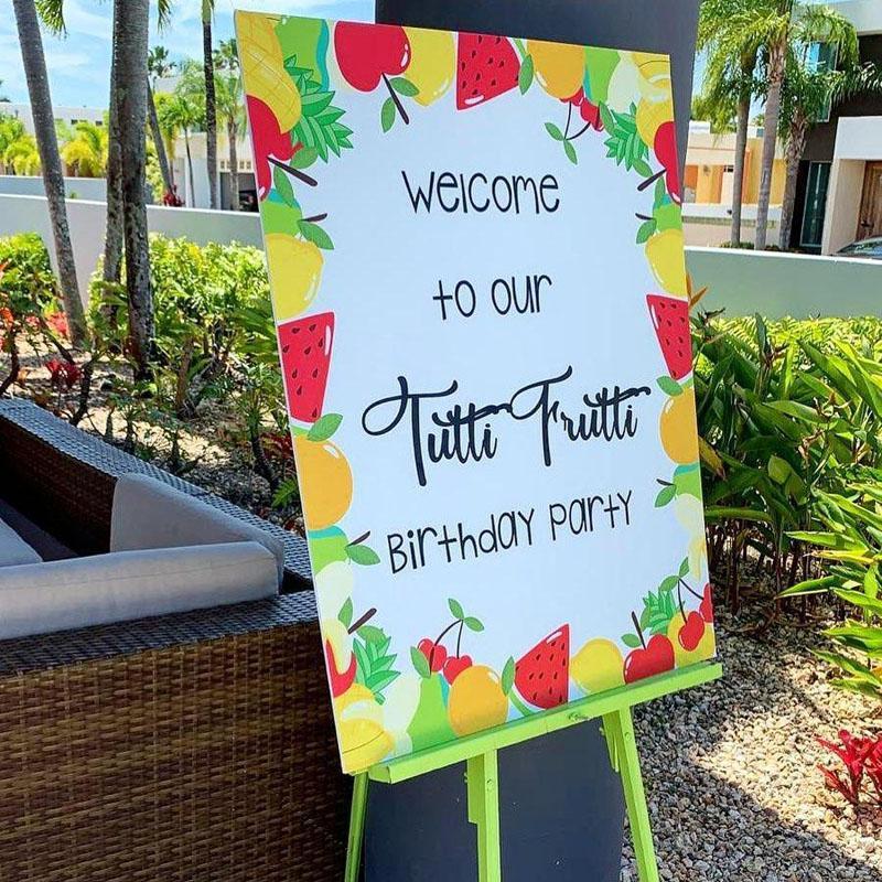 6 Tutti Frutti Birthday Party