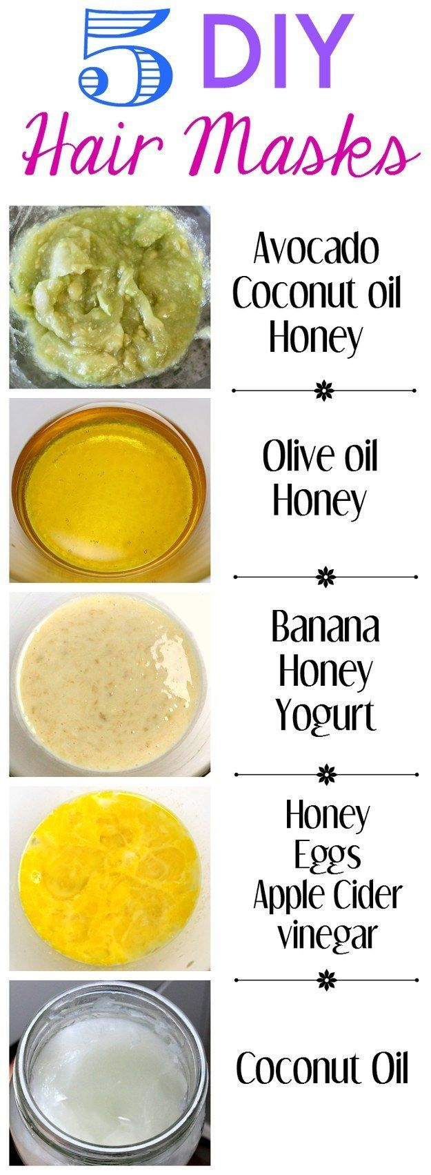 9  5 DIY Hair Masks