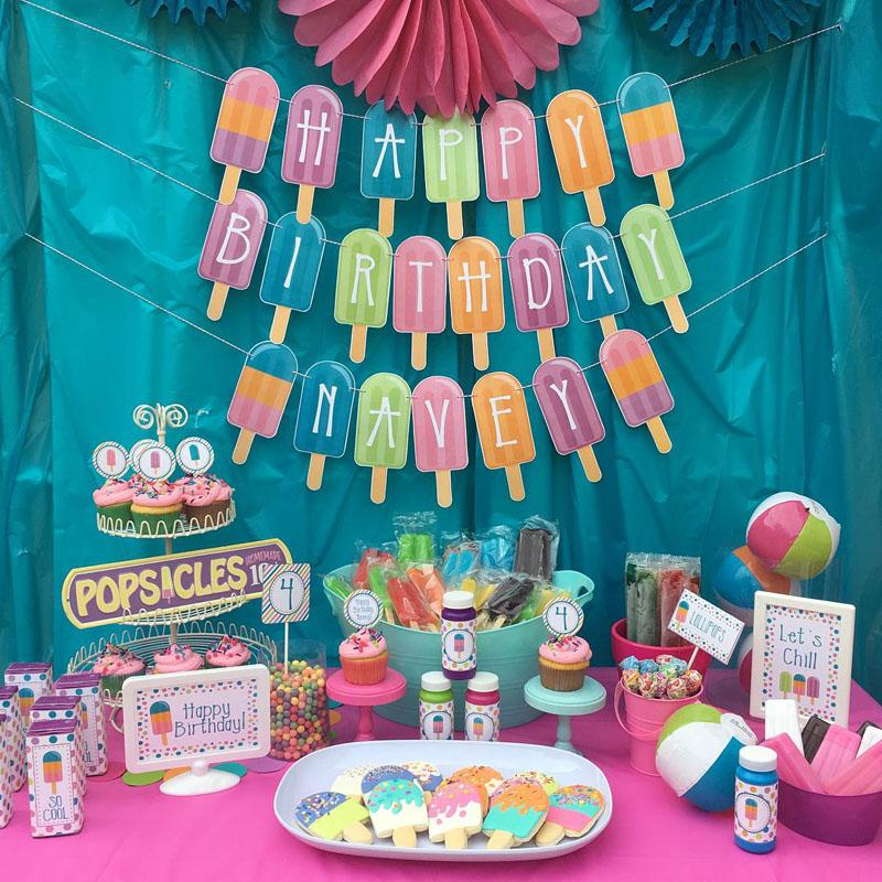 9 Birthday Party Decorations for kids