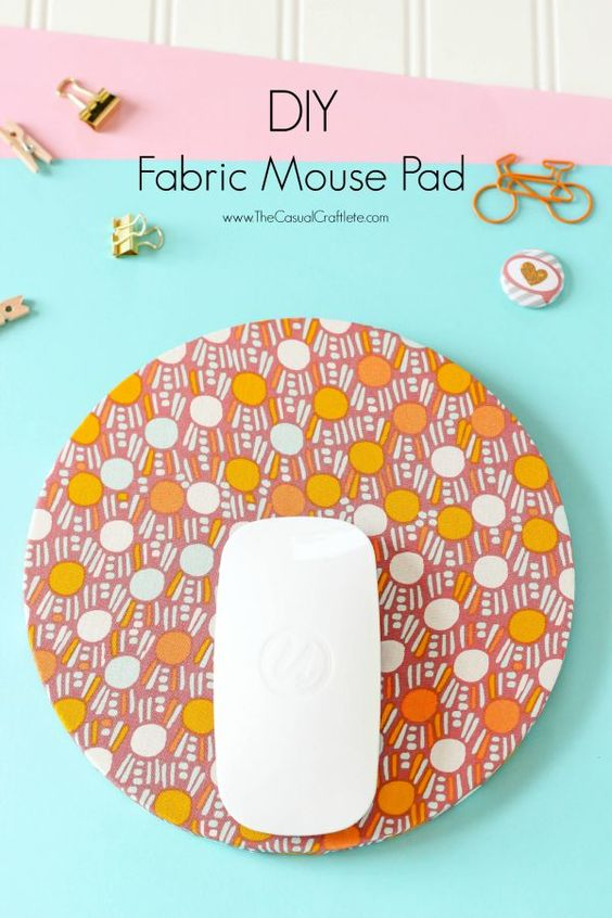 9 DIY Fabric Mouse Pad