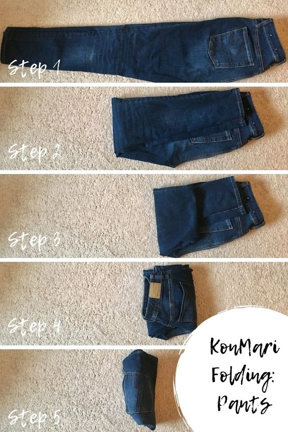 1 KonMari Method of Folding Clothes