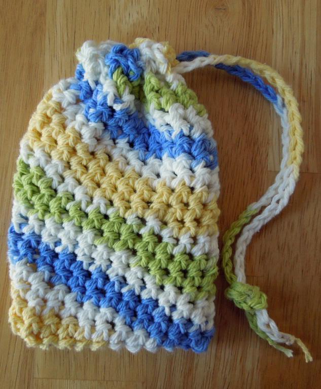 1 Soap Saver Crochet Pattern