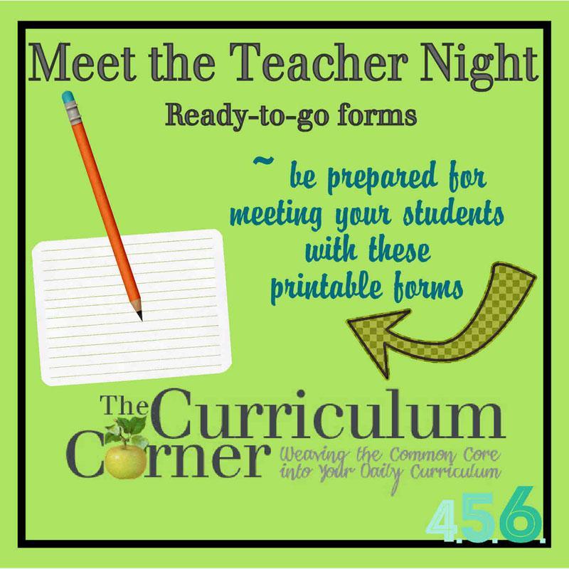 10 Meet the Teacher Event