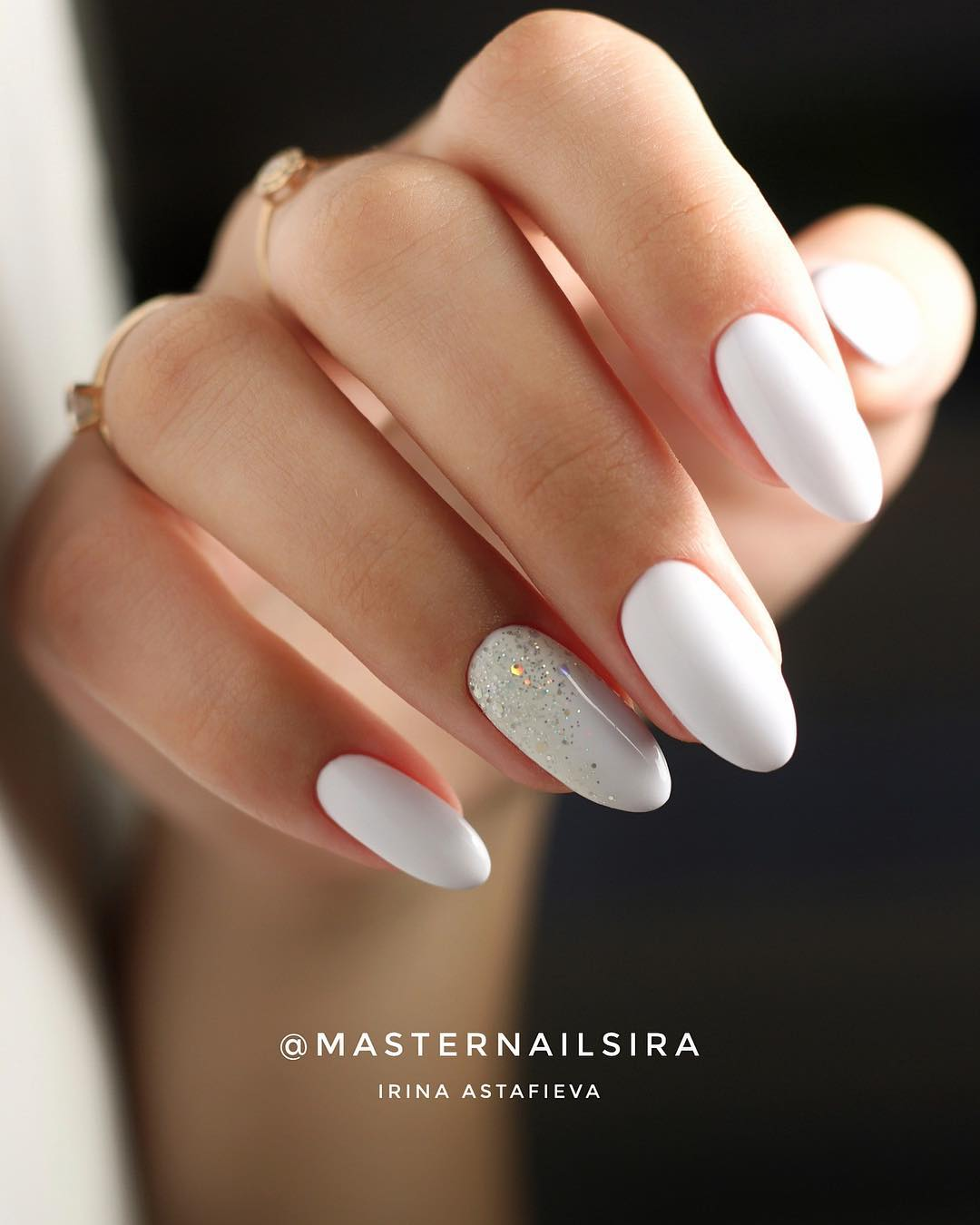 10 White Nail Art Designs