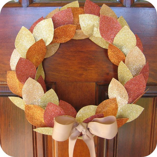 11 Glitter Wreath