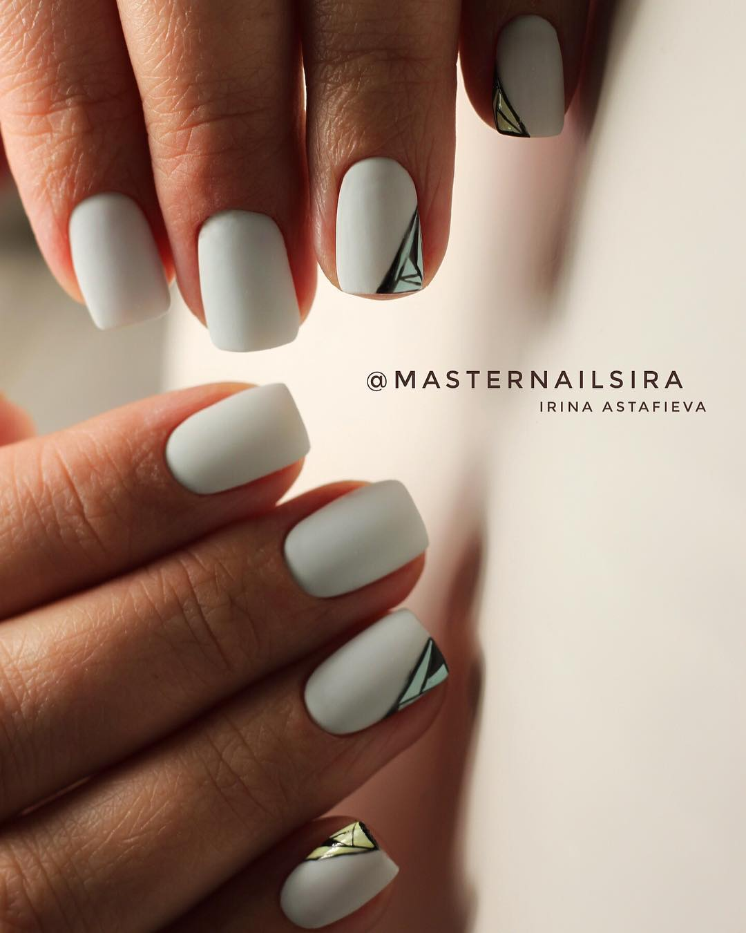 11 White Nail Art Designs