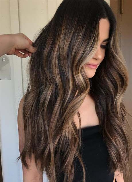 12 Brunette Balayage Hair