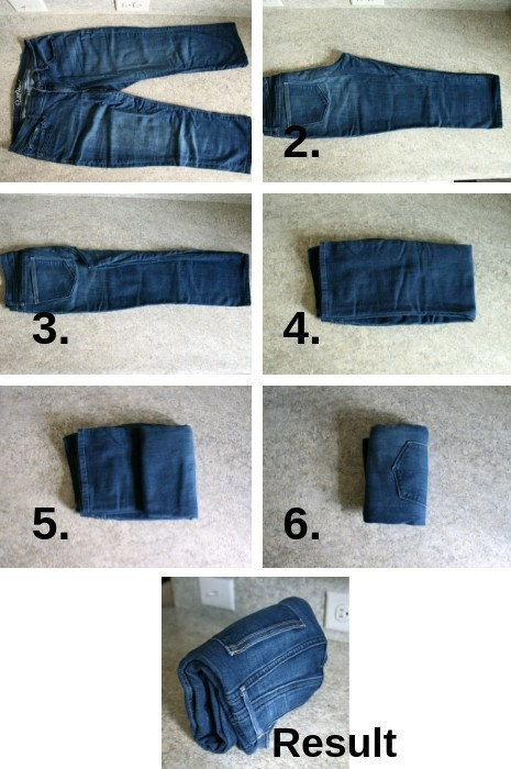 12 How to fold a pair of pants