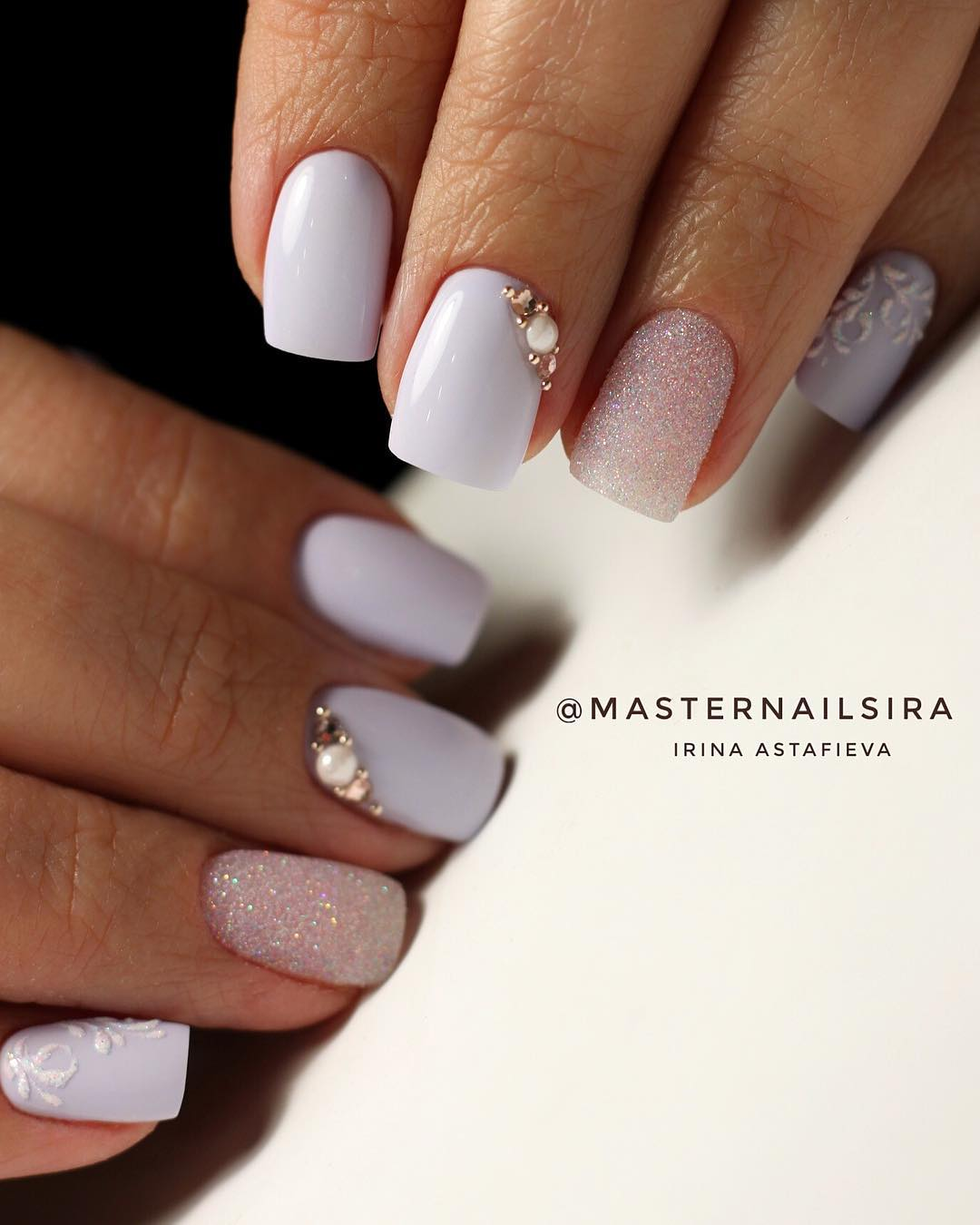 12 White Nail Art Designs